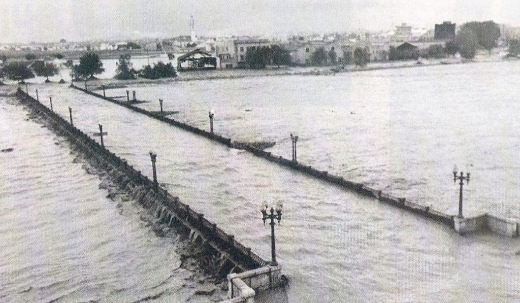 Se cumplen 60 años de la riada de 1957