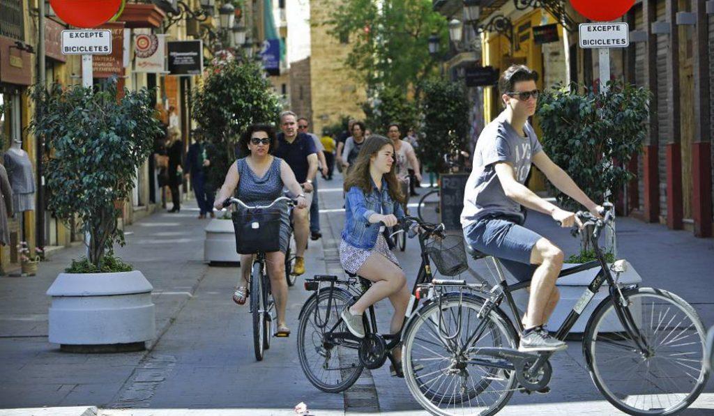 Estas son las nuevas zonas peatonales de Ciutat Vella