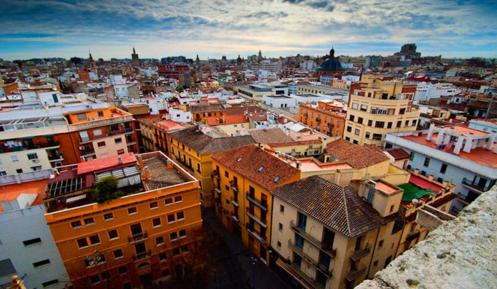 Valencia, una ciudad cada vez más calurosa