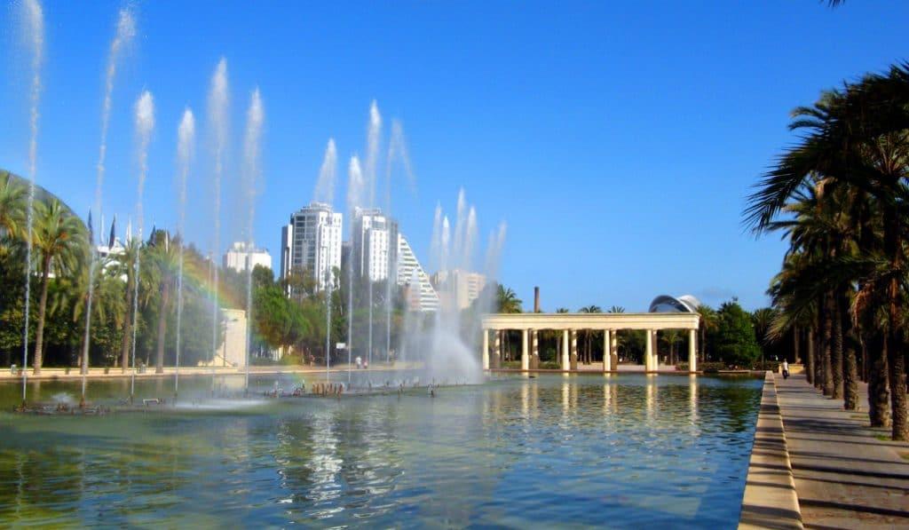 Comienzan las obras de rehabilitación de 135.000 m2 de los Jardines del Túria