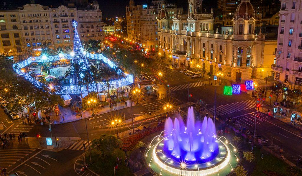 Se podrá caminar por dentro del árbol de Navidad de la plaza del Ayuntamiento