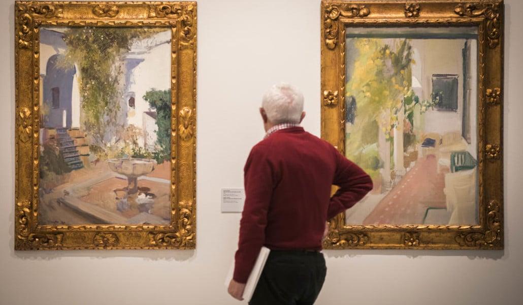 Sorolla y sus jardines regresan a Valencia con una nueva exposición