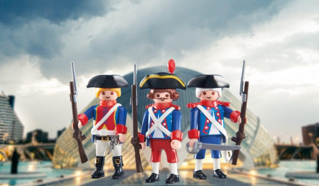 10.000 clicks de Playmobil se expondrán en el Ateneo Mercantil de Valencia