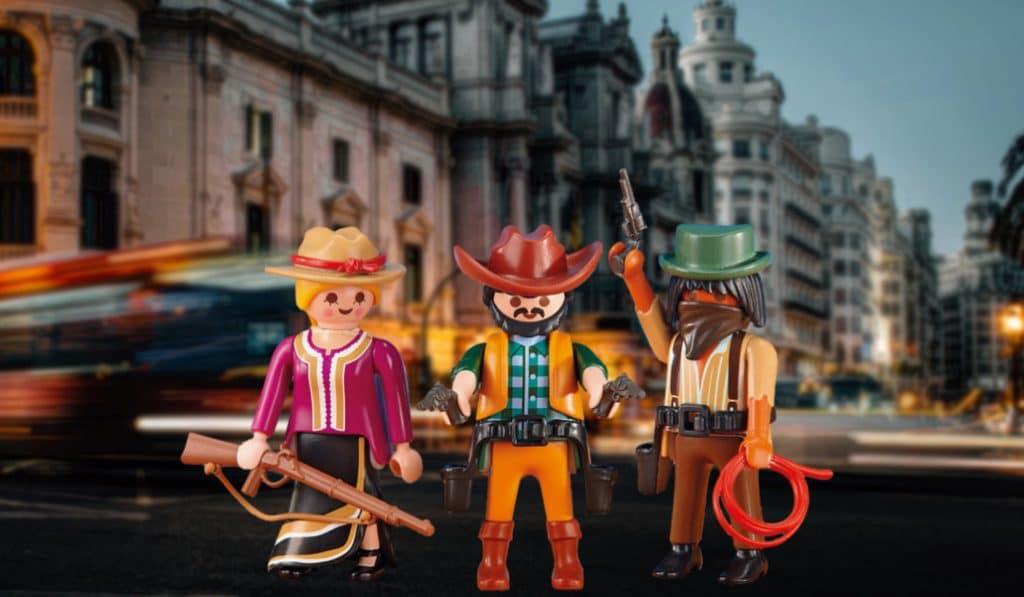 10.000 figuras de Playmobil invaden el Ateneo de Valencia