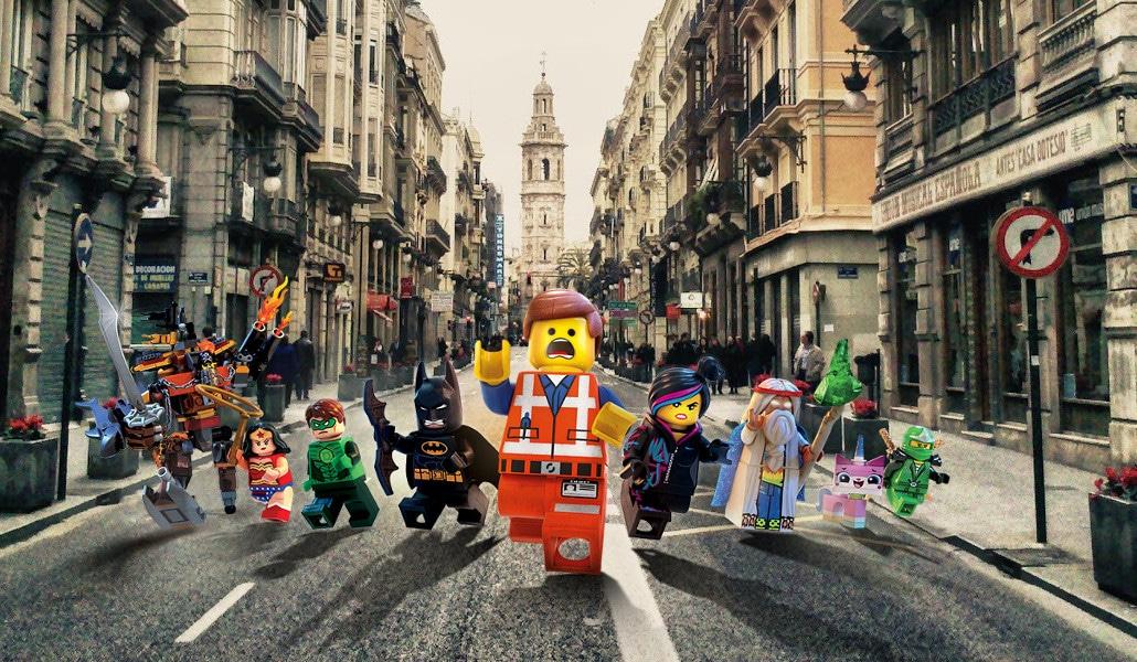 Un castillo de ladrillos: exposición especial de Lego en Valencia