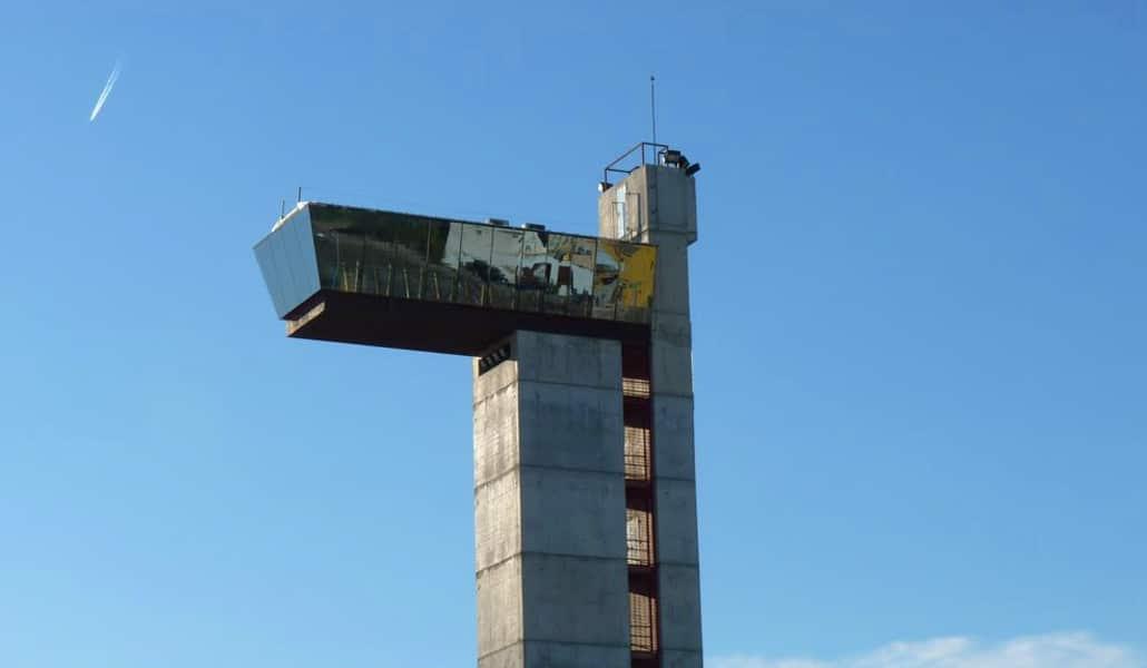La Torre Miramar se convertirá en un gran rocódromo con una zona para deportes urbanos