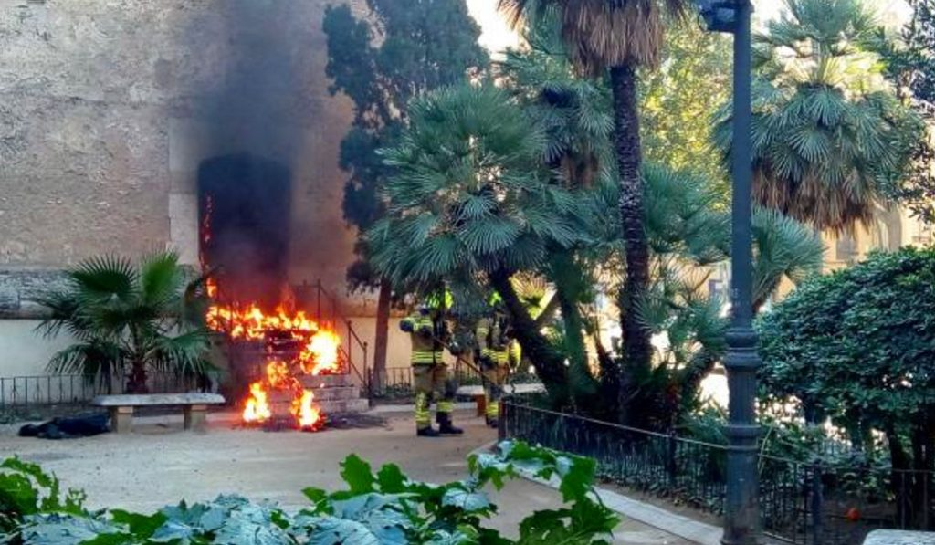 Valencia registra más de 30 ataques al patrimonio en un solo año