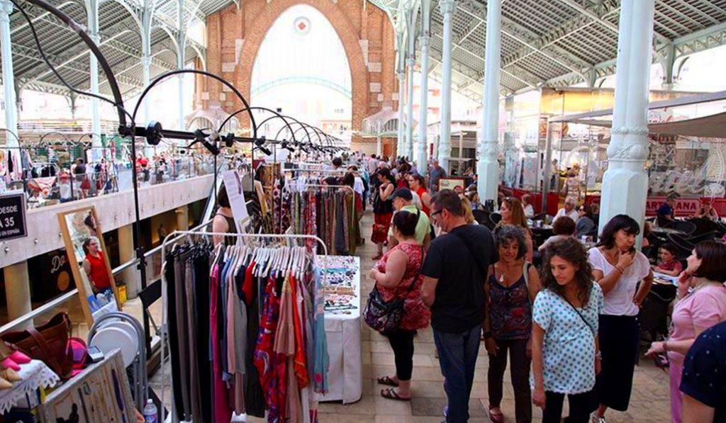 Vuelve el Zoco del Mercado de Colón a partir de este domingo