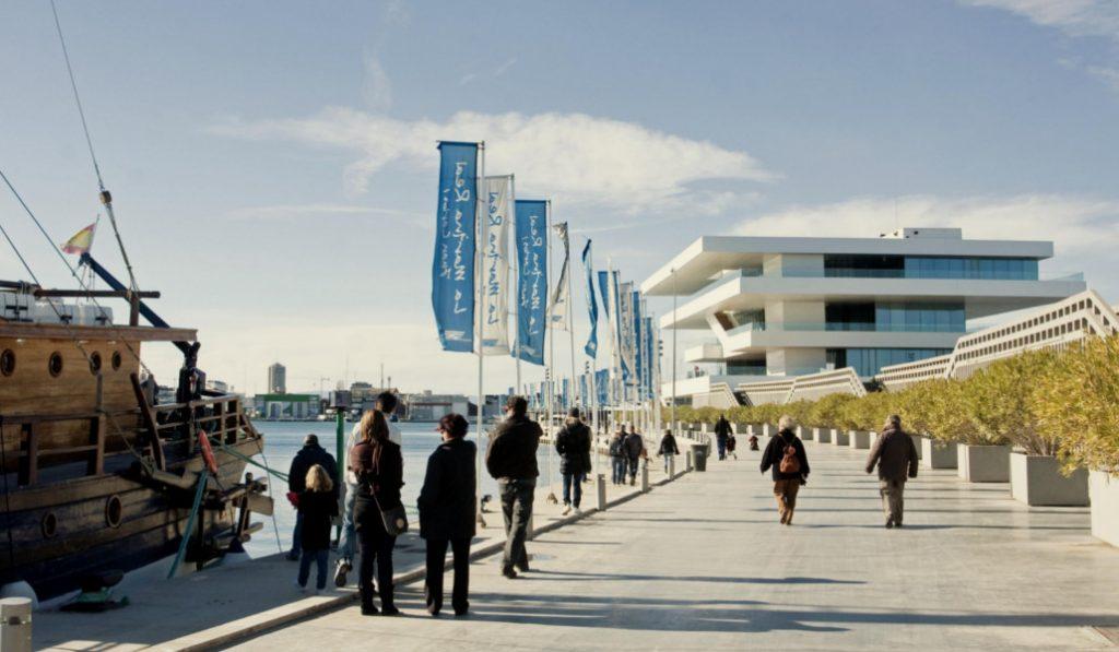 La Marina de Valencia será más peatonal