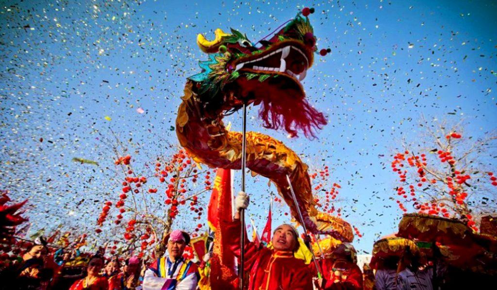 Así se celebra el Año Nuevo chino en Valencia