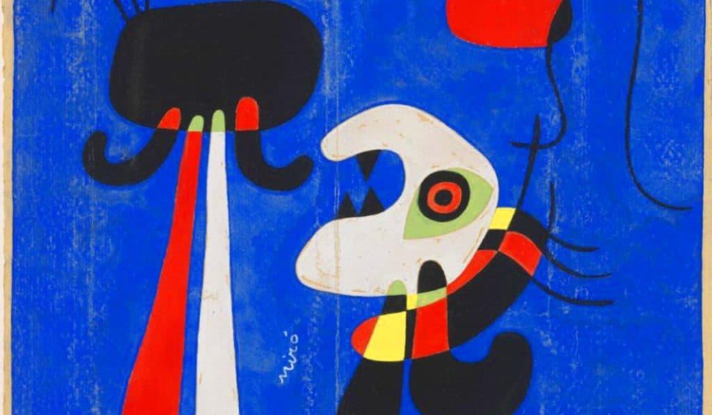 La obra de Miró llega a València en una exposición exclusiva