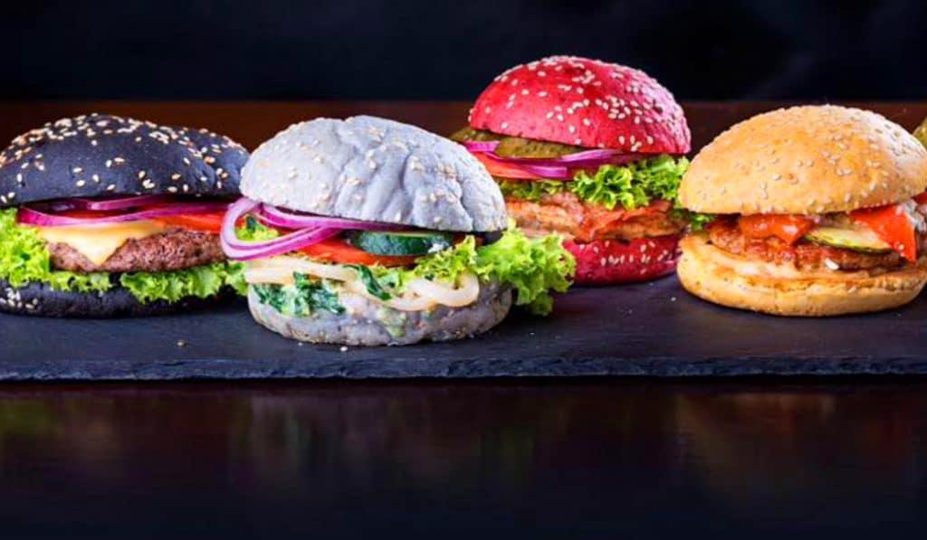 Rainbow Burger: cuando la hamburguesa se convierte en un espectáculo