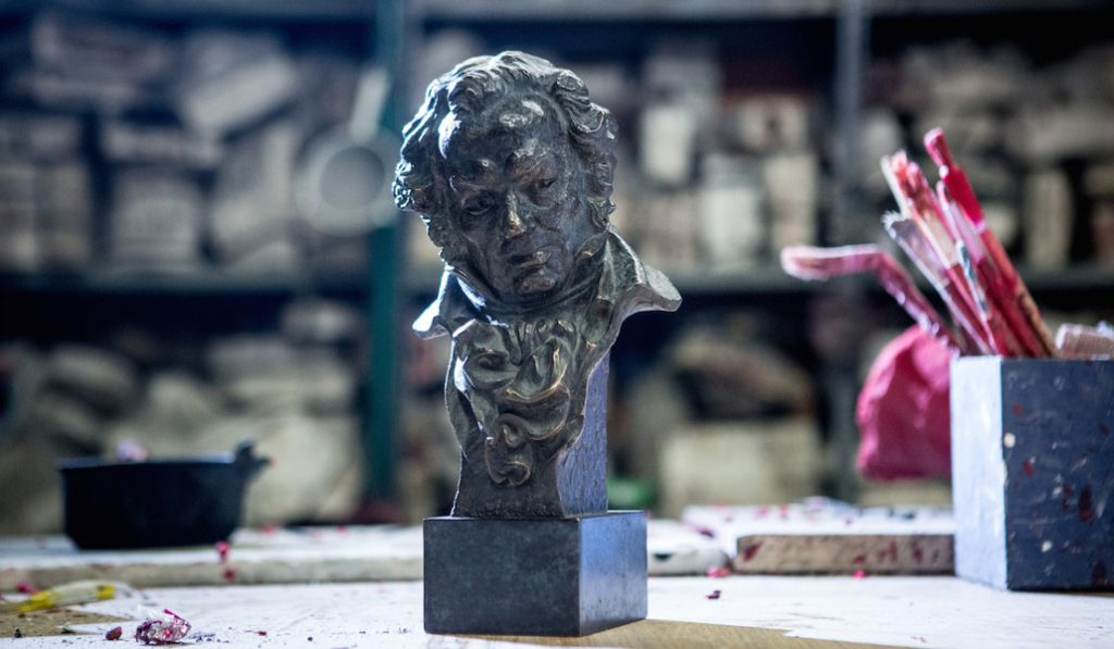 La estatuilla de los Goya, ¿se creó en Valencia?