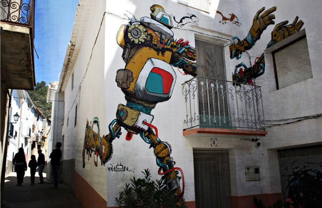 fanzara castellon arte urbano