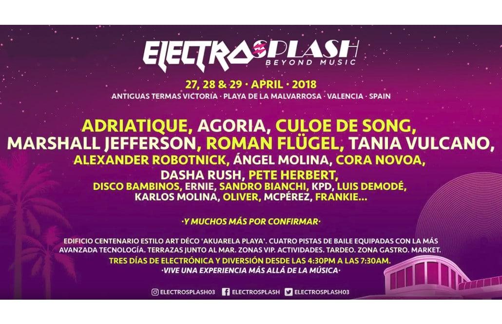 cartel electrosplash 2018