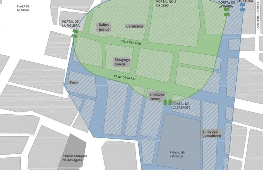 mapa juderia