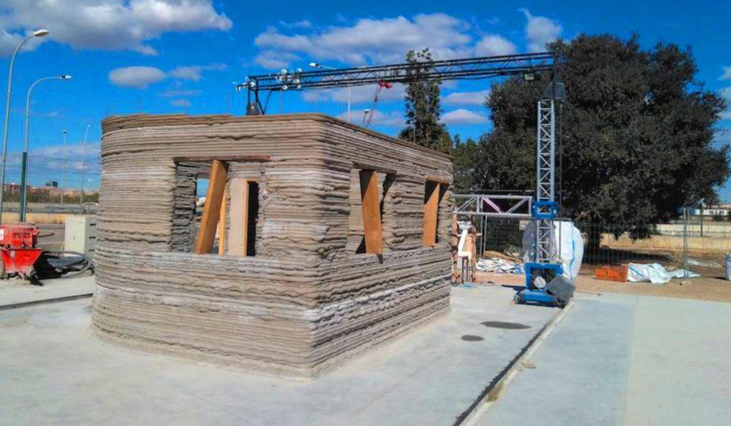 La primera casa de España impresa en 3D está en Valencia