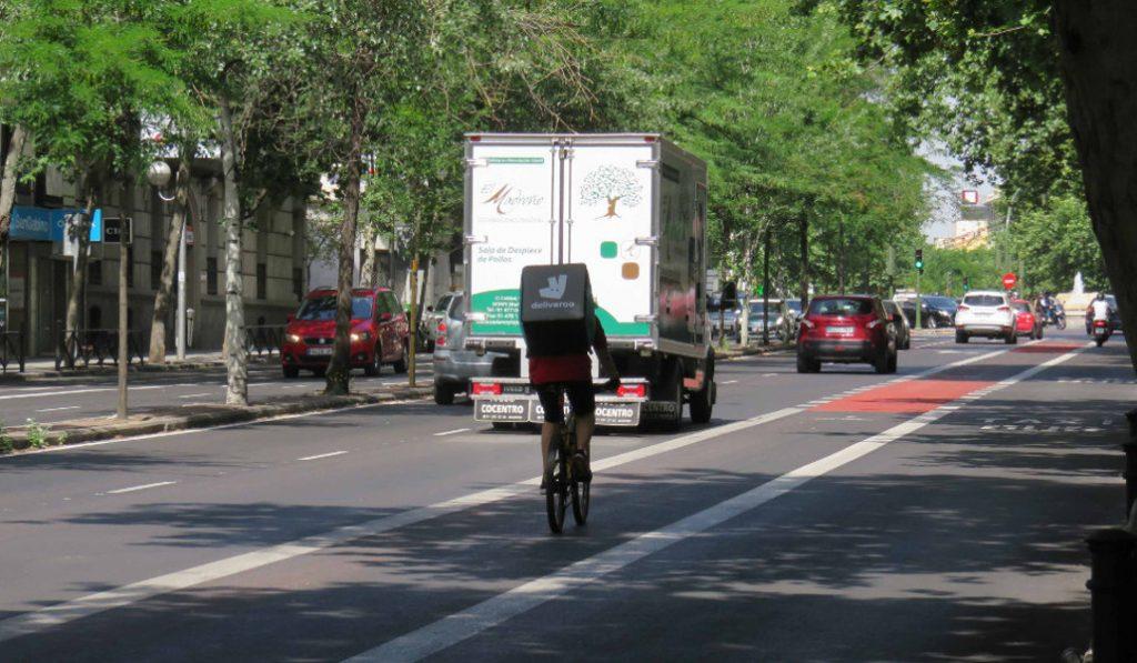 carril bici compartido