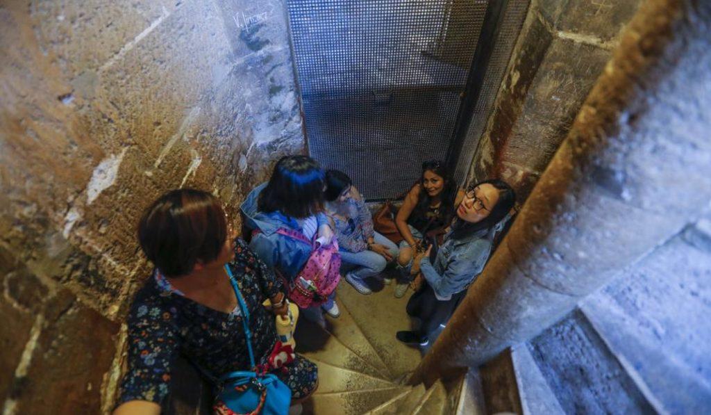 La torre del Micalet tendrá espacios para que los visitantes descansen