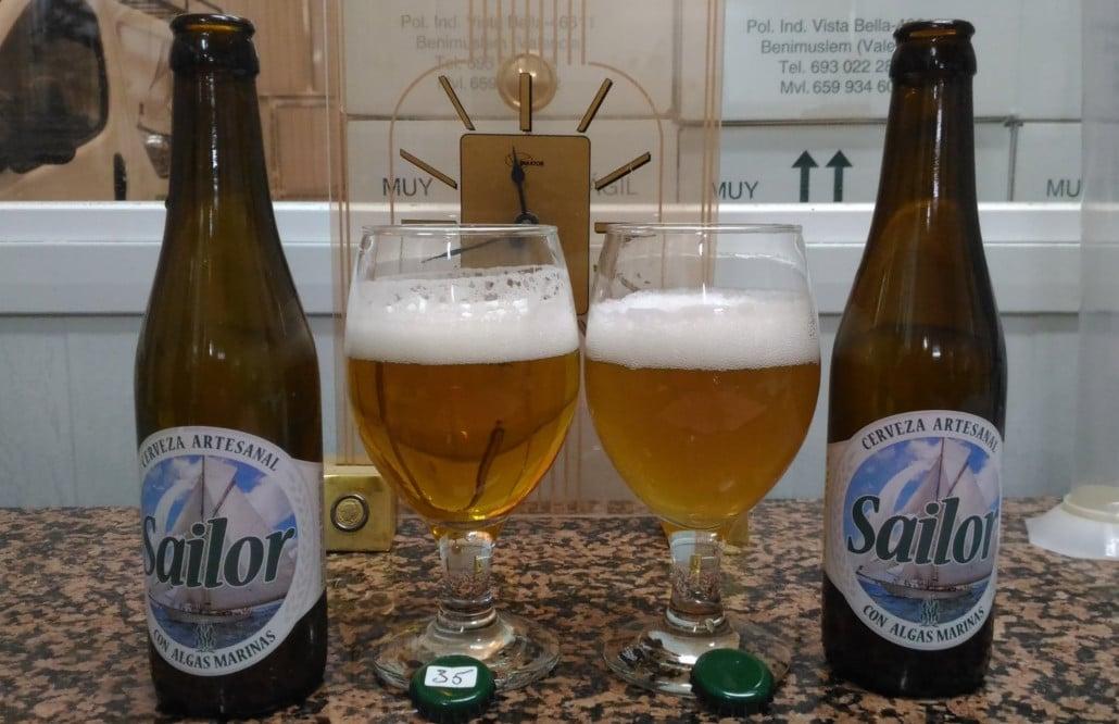 cerveza sailor algas valencia