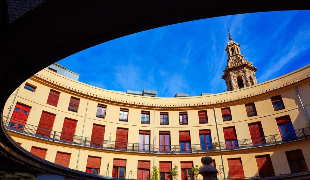 La historia de la Plaza Redonda de Valencia
