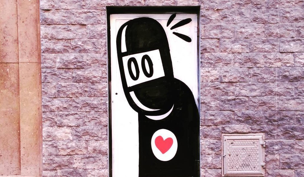 ¿Qué es este dibujo que está por todas partes en Valencia?