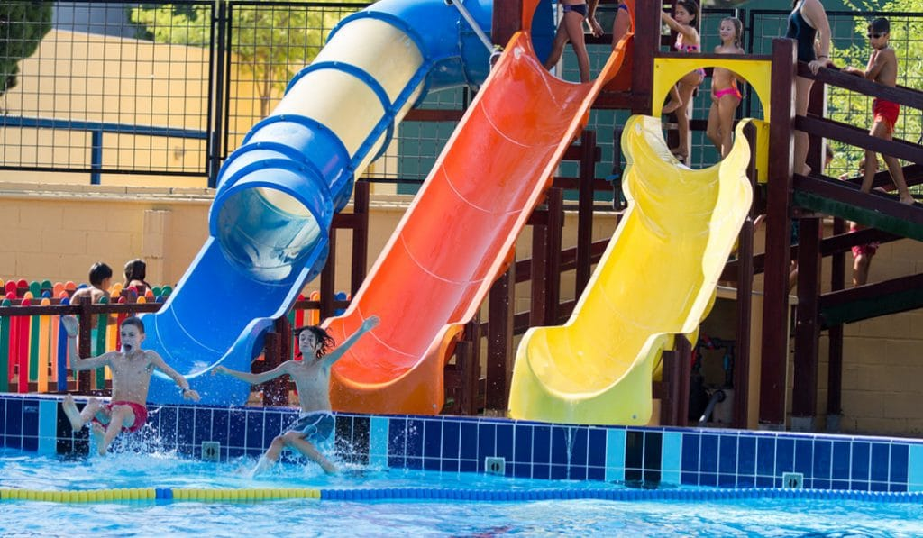 piscina parque del oeste