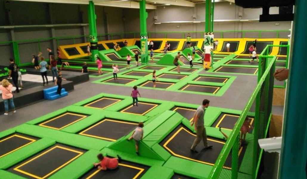 trampoline park valencia
