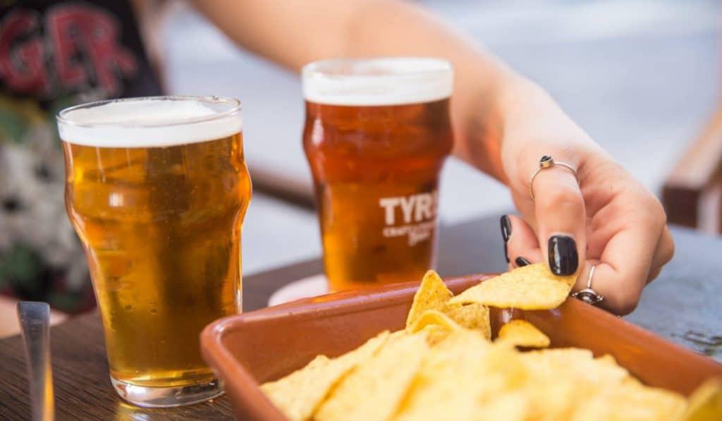 Así son las exclusivas catas de cerveza de Tyris On Tap