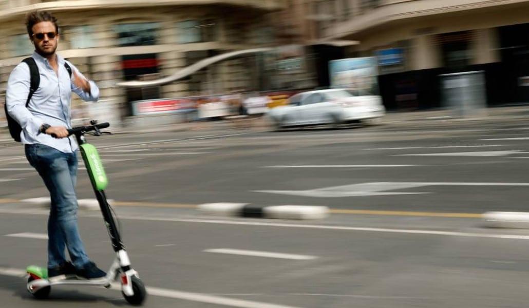 Los patinetes eléctricos vuelven a Valencia