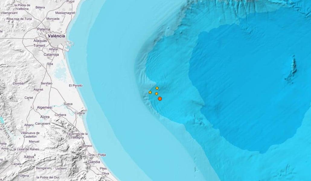 Un terremoto sacude Valencia de madrugada
