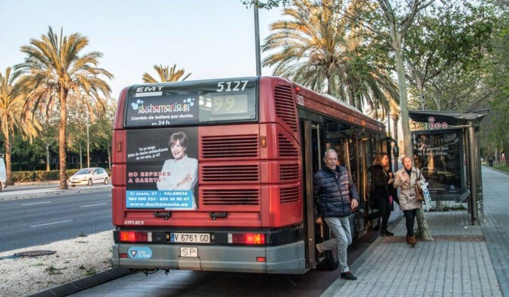 Los autobuses de la EMT, gratis este domingo