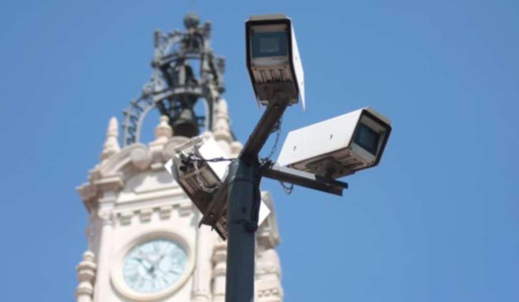 camara vigilancia coches multas valencia ciutat vella