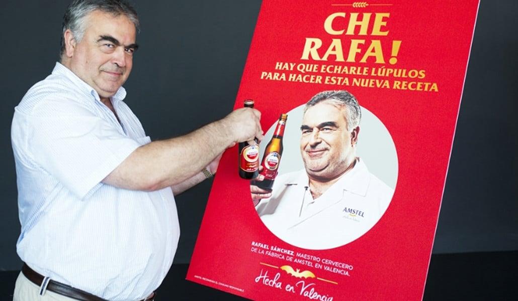 Amstel saca una cerveza dedicada a la Comunitat Valenciana