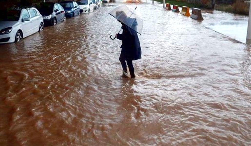 Nueva alerta roja por lluvia en Valencia