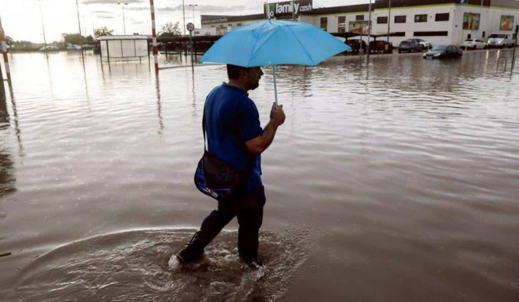 Las lluvias torrenciales de Valencia en imágenes