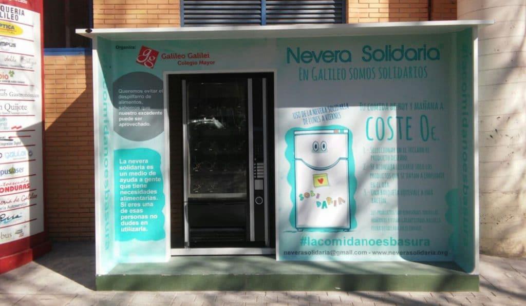 nevera solidaria Valencia