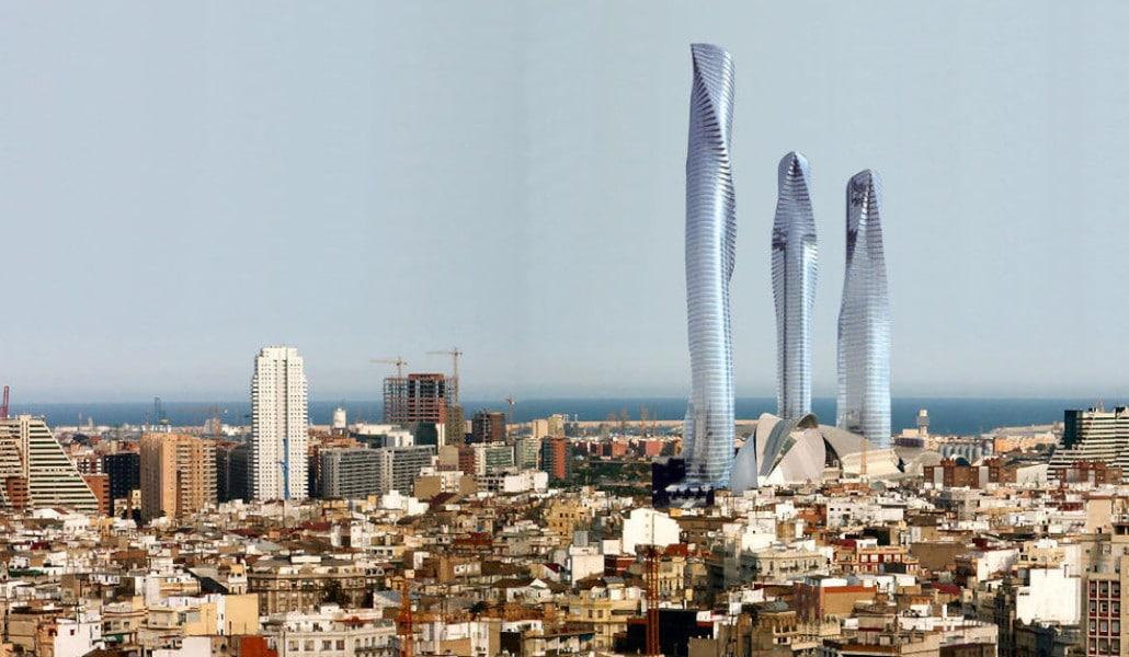 torres de calatrava valencia
