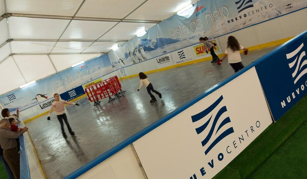 pista de hielo nuevo centro valencia
