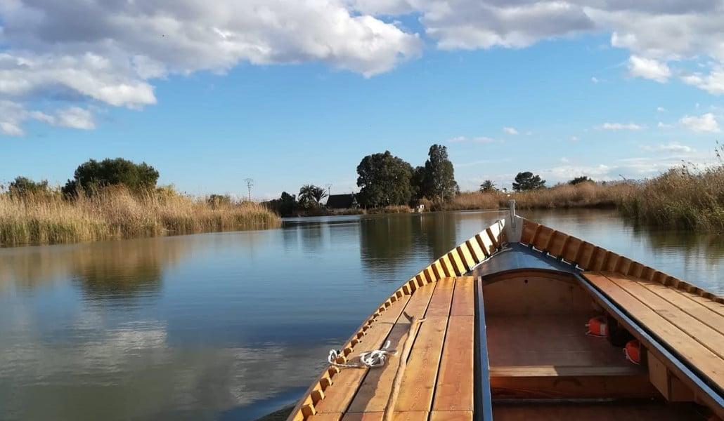 paseo en barca albufera