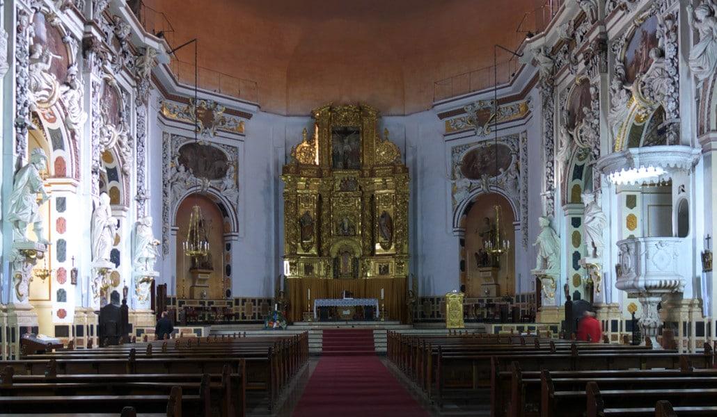 iglesia santos juanes valencia altar