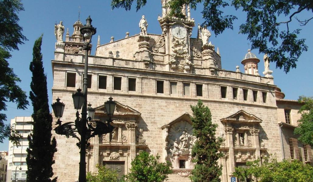 iglesia santos juanes valencia fachada trasera
