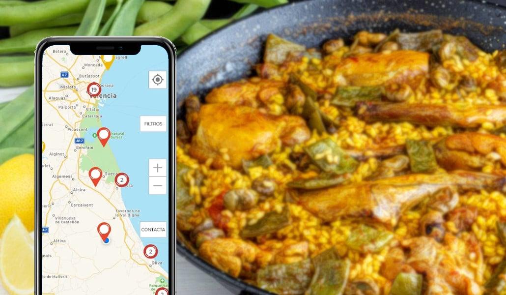 Crean una 'app' para saber dónde comer la auténtica paella valenciana
