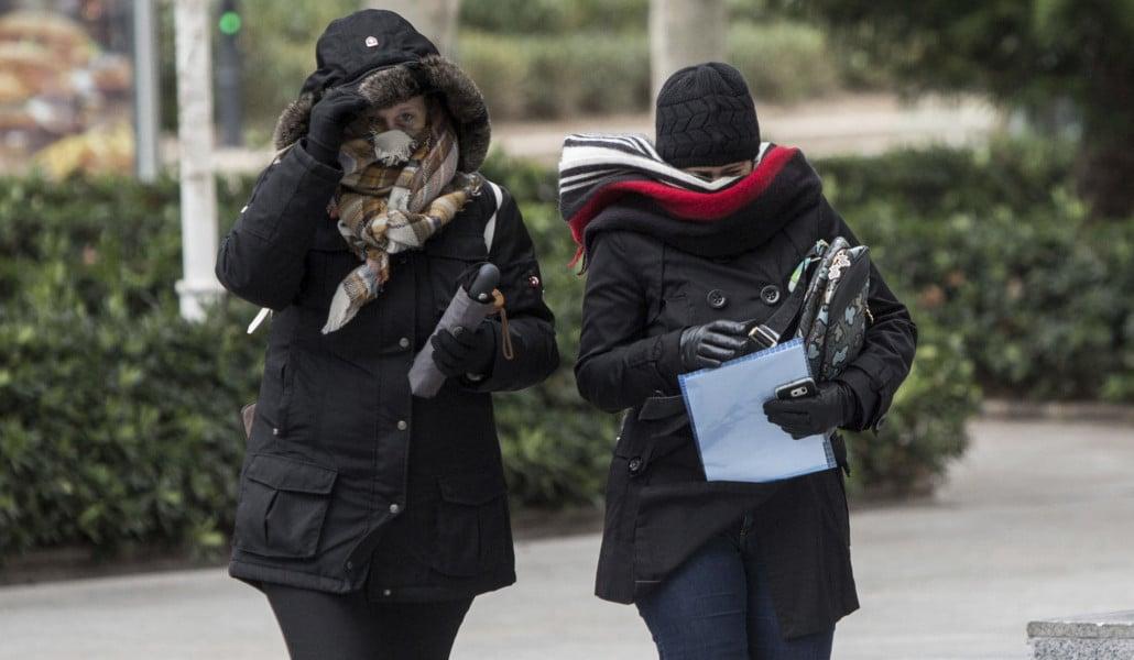 Una ola de frío llega a Valencia con temperaturas bajo cero