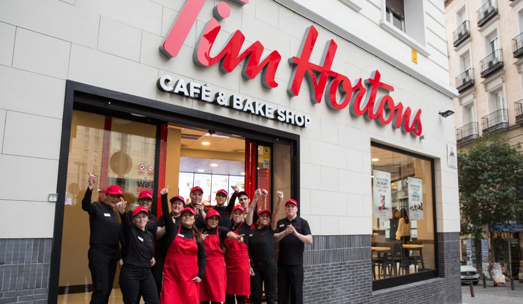 Tim Hortons: el café que triunfa en Canadá llega a Valencia