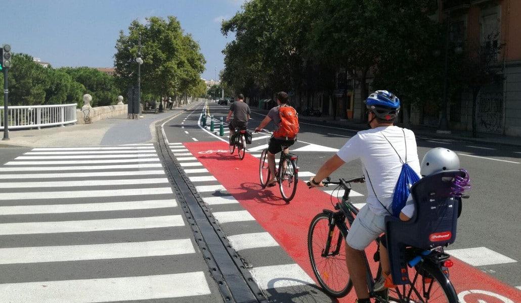 Valencia ya es una de las ciudades más 'bike friendly'