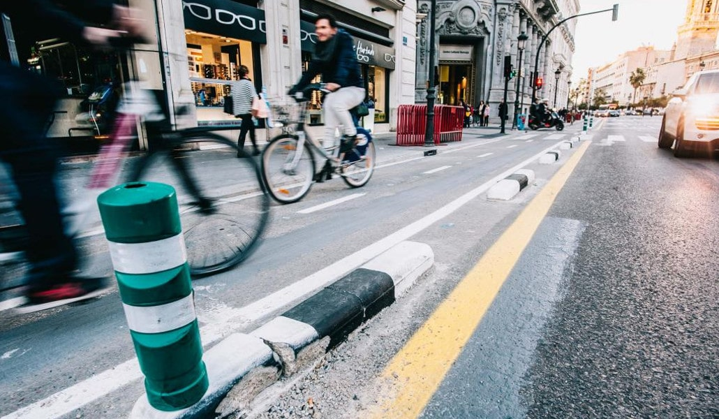 Primado Reig y las Grandes Vías, los dos nuevos carriles bici de Valencia