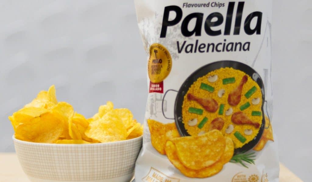 ¿Patatas fritas con sabor a paella? Sí, ya existen y son estas