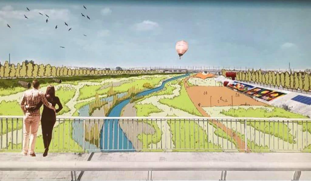 Así será el nuevo cauce del río Turia