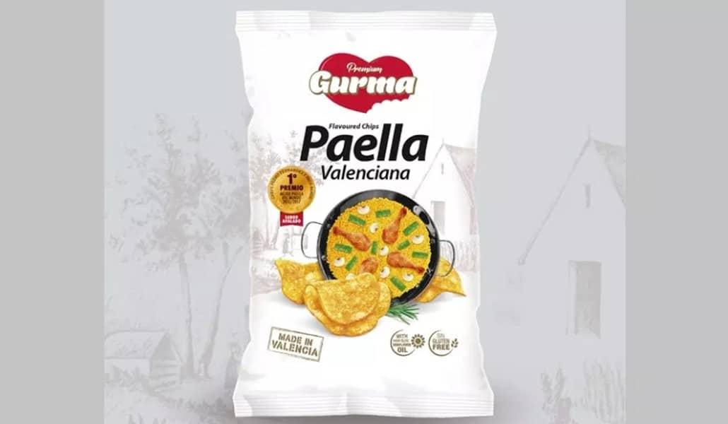 sabor paella chips